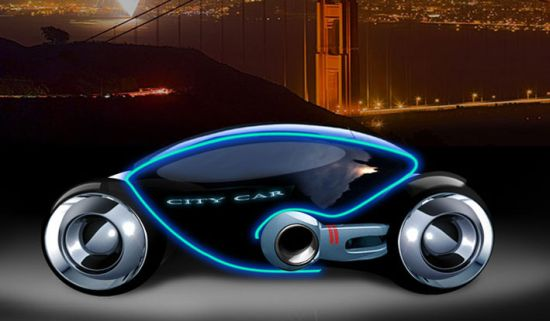 Phoenix All Electric Concept Car Has A Transparent Glass