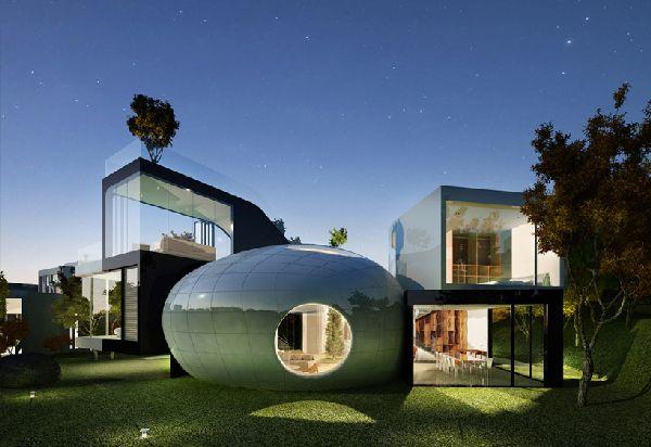 Planning Korea: Jeju cocoon house