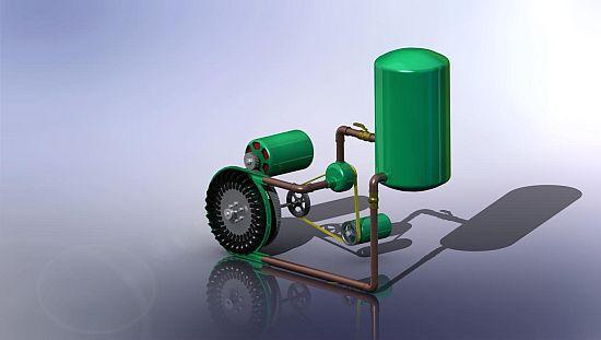 Eco Energy Hydraulic Silo Hydro Electric Generator