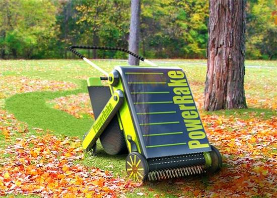 Eco Gadgets Human Powered Power Rake Makes Raking