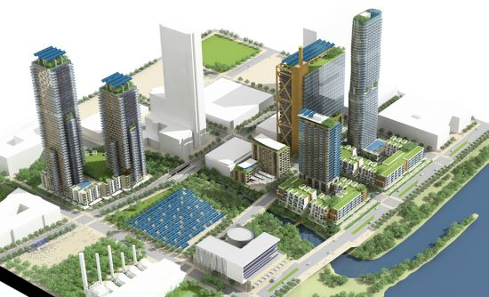Eco Architecture Project Green A Sustainable Mixed Use