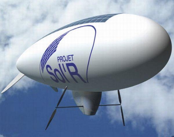 Project Sol'R  このゼロ排出の飛行船はエコな製品の素晴らしい例です。この飛行船は搭