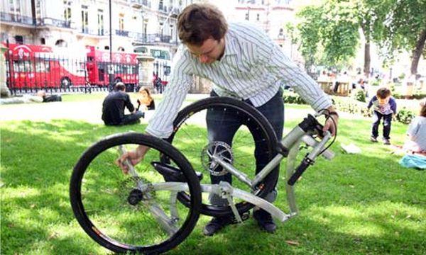 Prototype folding bike