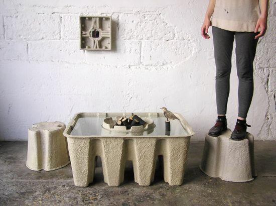 Pulp Furniture amalgamates contemporary looks with sustainability ...