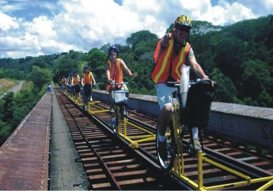 rail bikes in costa rica PVAtF 5965