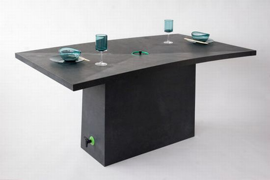 rain harvesting garden table simon davies1