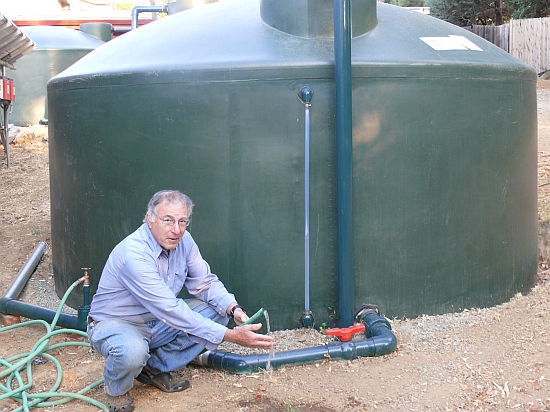 Eco Tech Man Builds Rainwater Harvesting System To