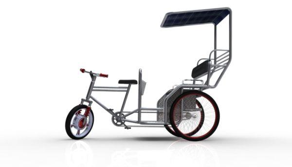 Re-design of Cycle Rickshaw