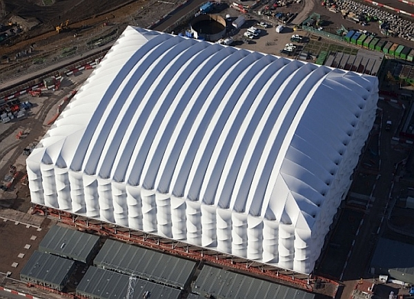 Recyclable Basketball stadium for 2012 London Olympic