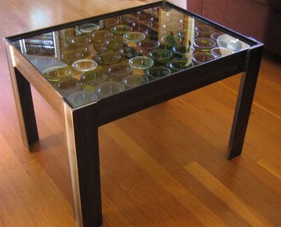 Сделать своими руками стеклянный стол 579