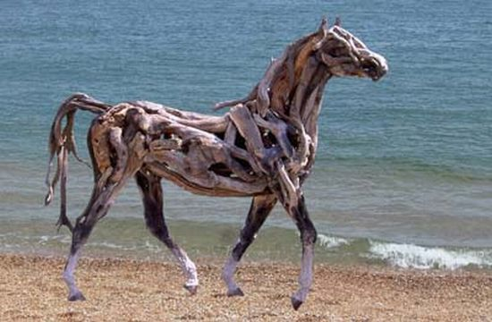 recycled horse 1