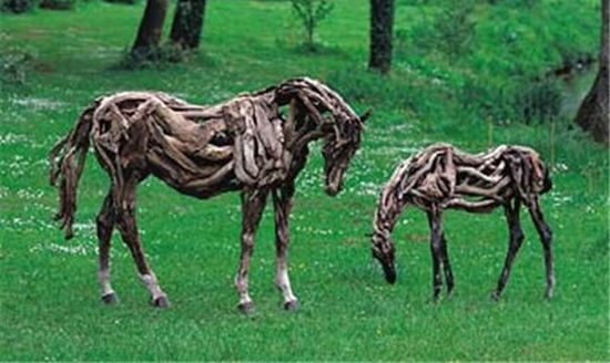 recycled horse 2