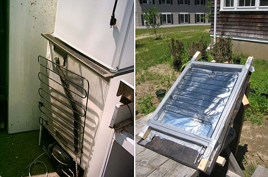 Eco Diys Recycle An Old Refrigerator Into A 5 Solar