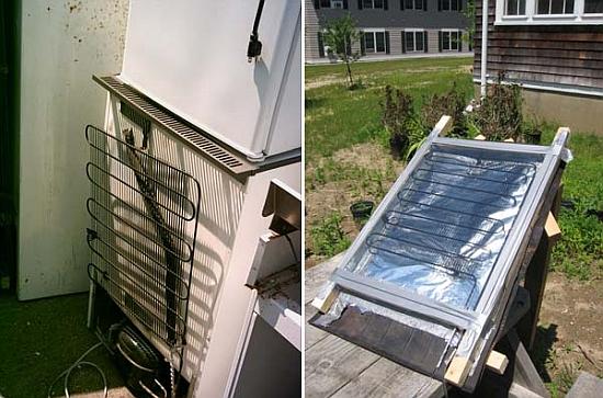 Eco Diys Recycle An Old Refrigerator Into A 5 Solar