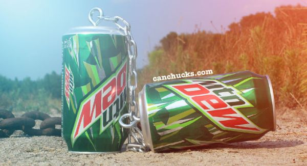 Recycled Can Nunchuck