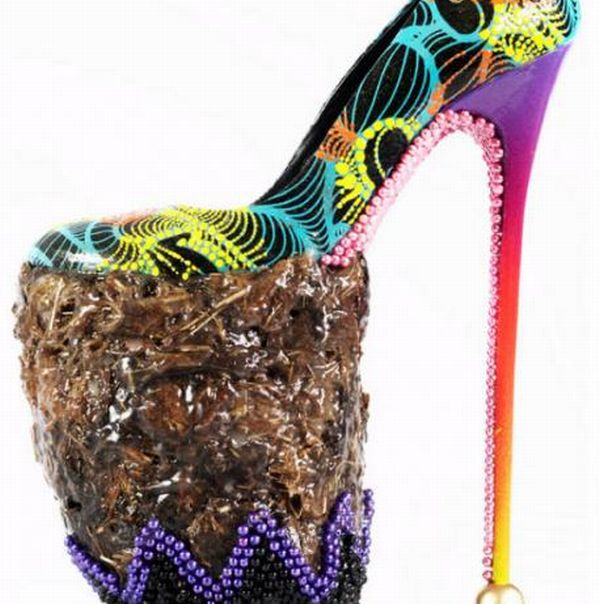Recycled Stiletto