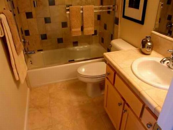 Remodelling small bathrooms
