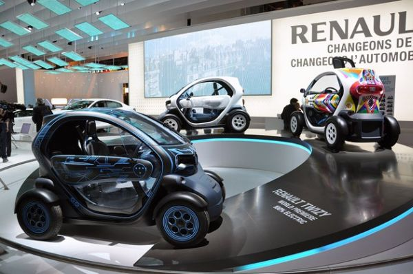 Renault Electric Car
