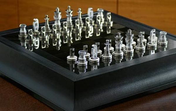 Eco Friendly Chess Sets Made From Auto Junk Ecofriend
