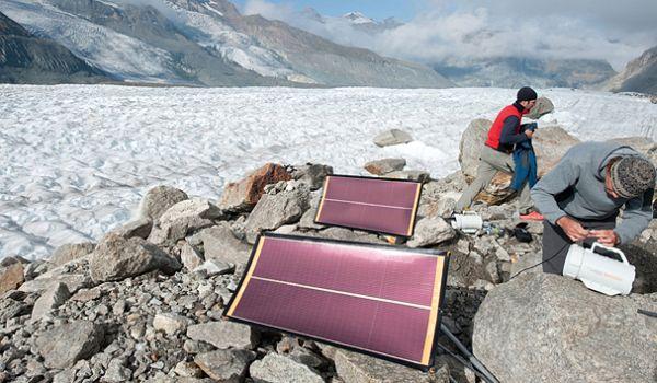 Renewable energy powered portable generators