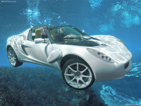 The Rinsd Squba Is Leading Car That Sprints On Land As Well Underneath Water Unique Design Has Been Created By Swiss Company