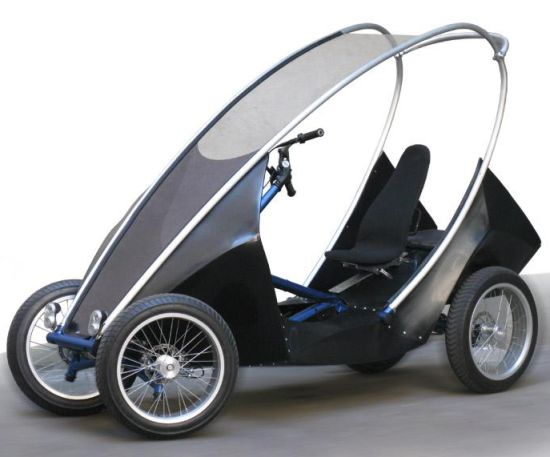 Zero Pollution Motors >> Eco Transportation: The Road Star-S is a hybrid human-electric urban utility vehicle - Ecofriend