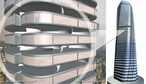 Rotating Building