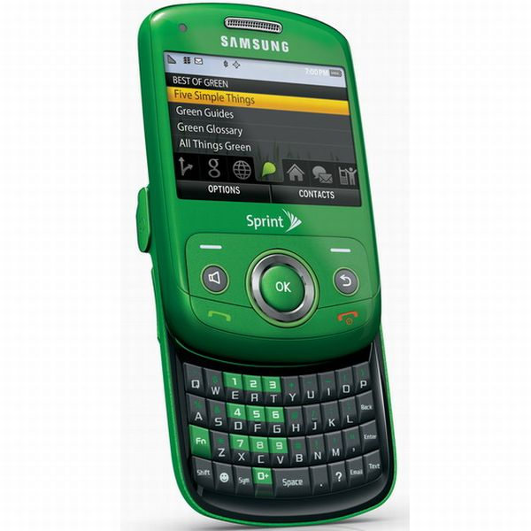 Samsung Reclaim Green Phone