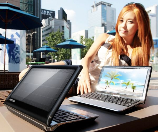 samsung solar powered computers