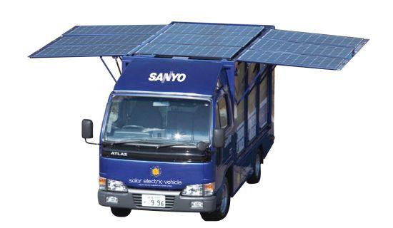 sanyo solar electric vehicle