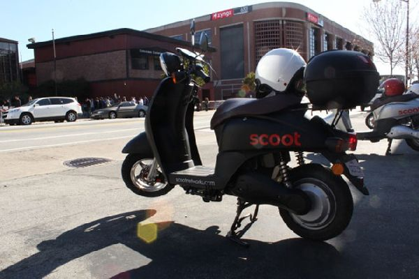 Scoot Bringing Zipcar-like Electric Scooters to San Francisco