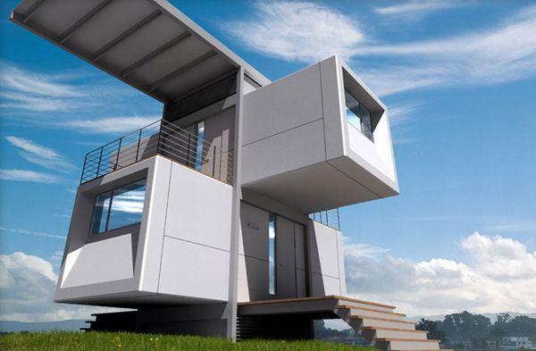 Self-powered home