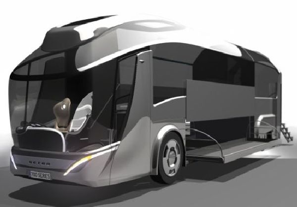 setra coach zero emmition