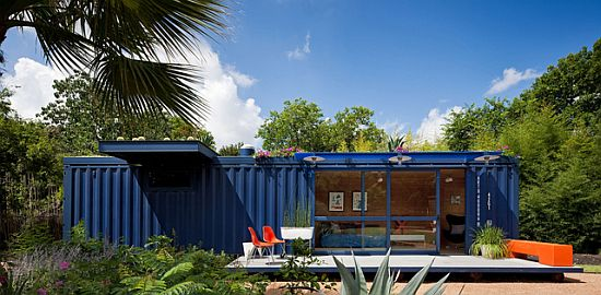 shipping container home by jim poteet in texas 1