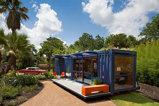 shipping container home by jim poteet in texas 2