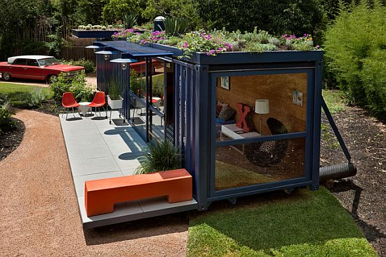 shipping container home by jim poteet in texas 4