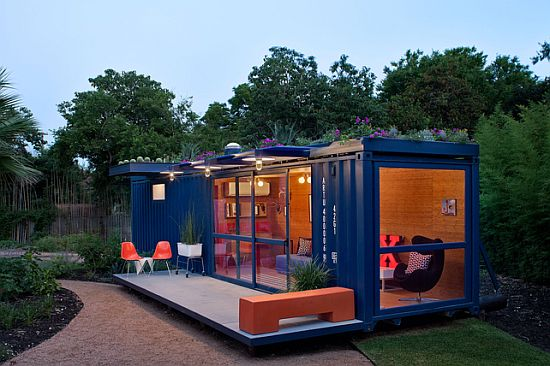shipping container home by jim poteet in texas 6
