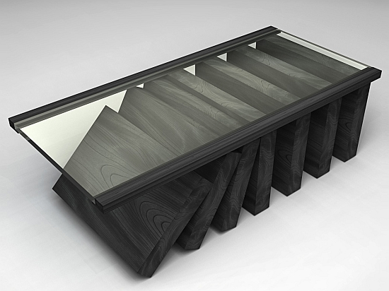 Eco Interiors Domino Coffee Table Is Sustainable And Expensive Ecofriend