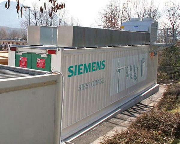 Siemens Develops Modular Power Storage for Renewable Energy