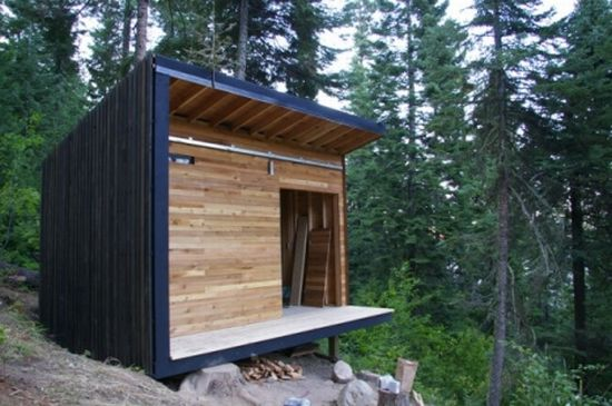 Single Shed An Off Grid Retreat In The Oregon Wilderness