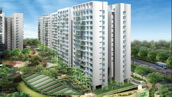 Singapore's first eco-friendly housing project