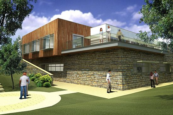Eco Architecture Sustainable And Modern Laboratories By Bond Bryan