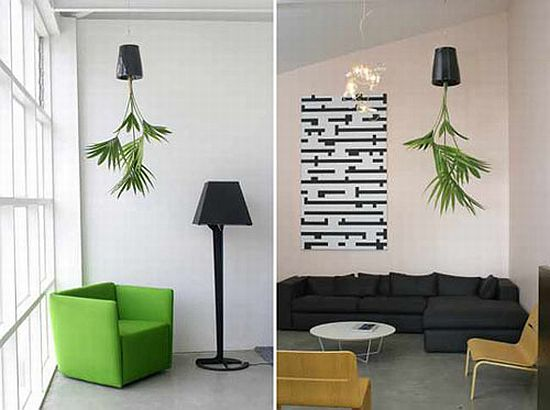 Eco Interiors: Sky Planter Allows You To Hang Plants From The Ceiling