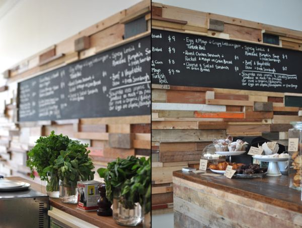 Eco friendly restaurants made using recycled materials