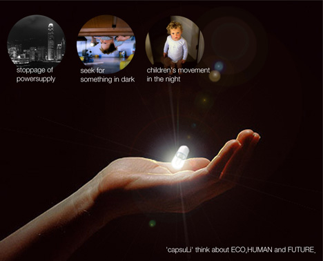 The Solar Ed Led Capsule Designed By Ukseop Jeong And Hanna Son Is Really A Little Masterpiece
