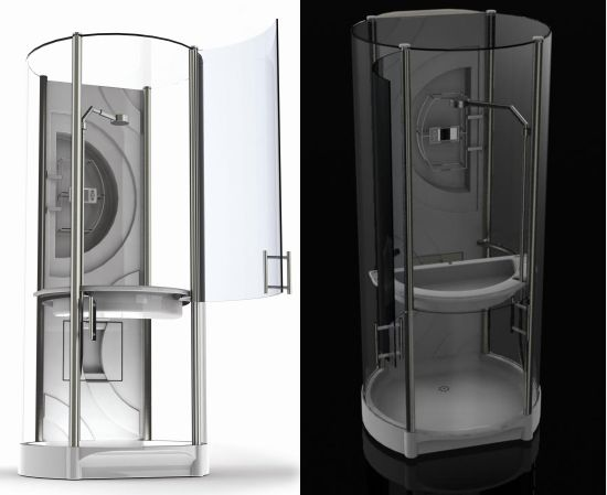 Eco Gadgets Smart Shower Saves Water And Harnesses Waste
