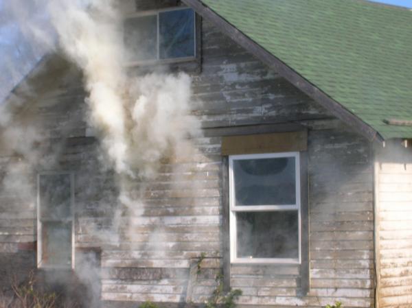 Smoke into windows