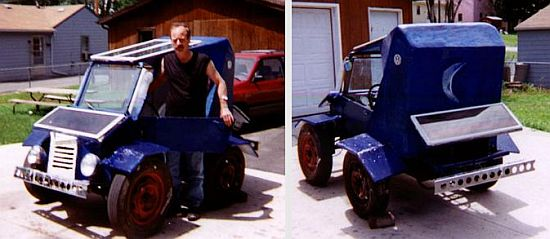 Eco Cars Homemade Car Adopts Weird Looks For Zero