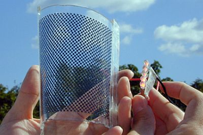 Incredibly Efficient Flexible Sphelar Solar Cells Absorb