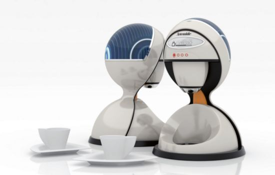 solar coffee machine